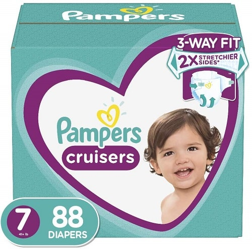 Pampers Cruisers size 7