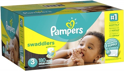 Pampers Swaddlers size 3