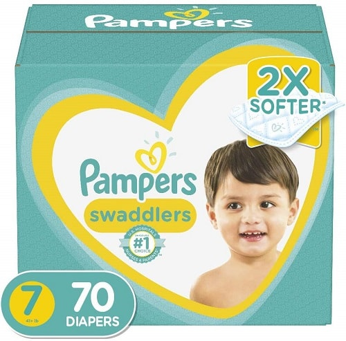 Pampers Swaddlers size 7 (70 count)