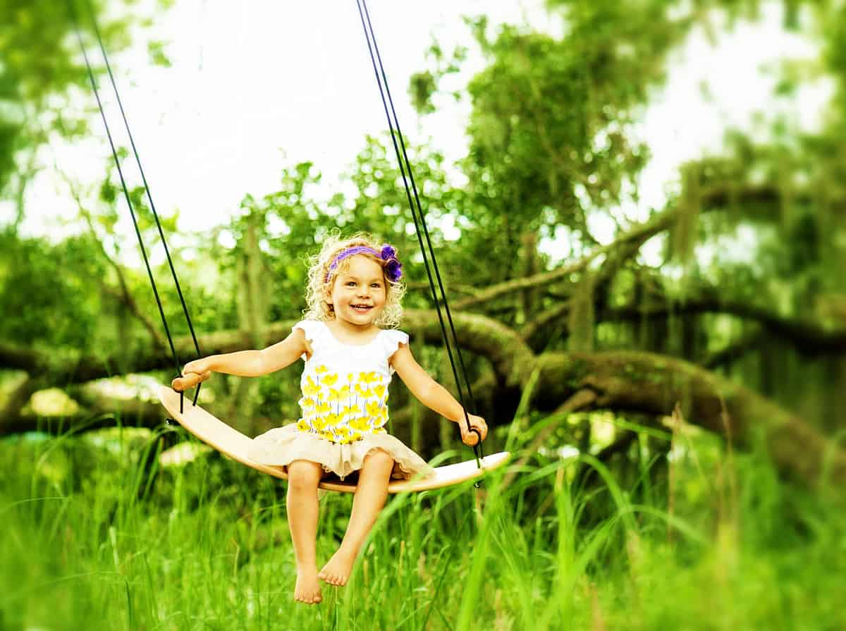 Best swing for kids feature