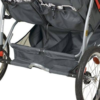 Baby Trend Expedition Double Jogger-storage