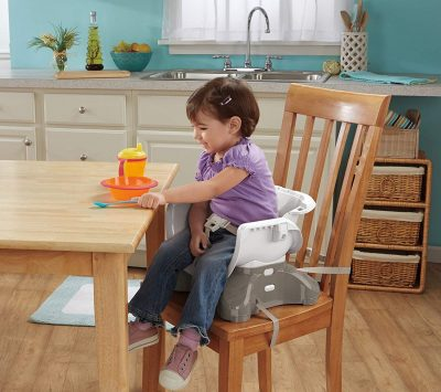 Fisher-Price SpaceSaver High Chair-installed