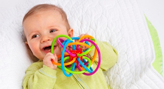 toys for babies of 0-6 months old, the lot dallas, Rattle-and-Teether-2
