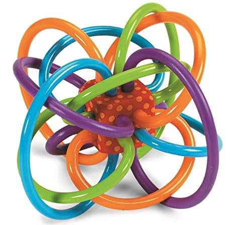 toys for babies of 0-6 months old, the lot dallas, Rattle-and-Teether