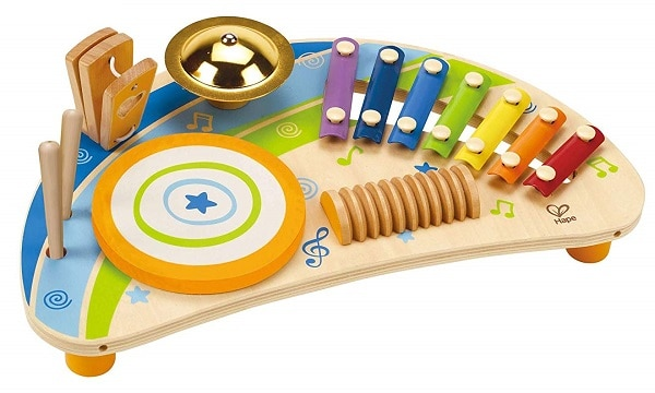 Best Toys for 2-Year-Olds, the lot dallas, Hape Mighty Mini Band