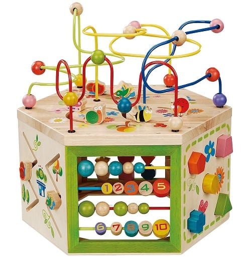 Best Toys for 1-Year-Old, the lot dallas, EverEarth-Activity-Cube