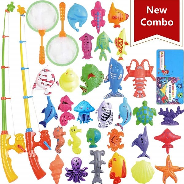 Best Toys for 3-Year-Olds, the lot dallas, CozyBomB-Magnetic-Fishing-Toys
