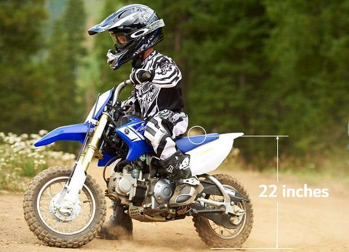 best Dirt Bikes for Kids seat height