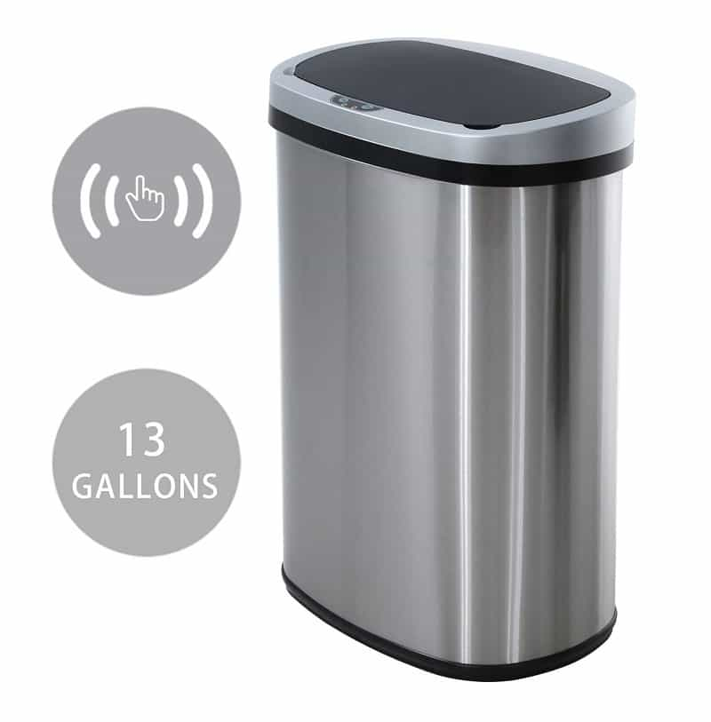Best 13 Gallon Trash Cans, the lot dallas, HCB