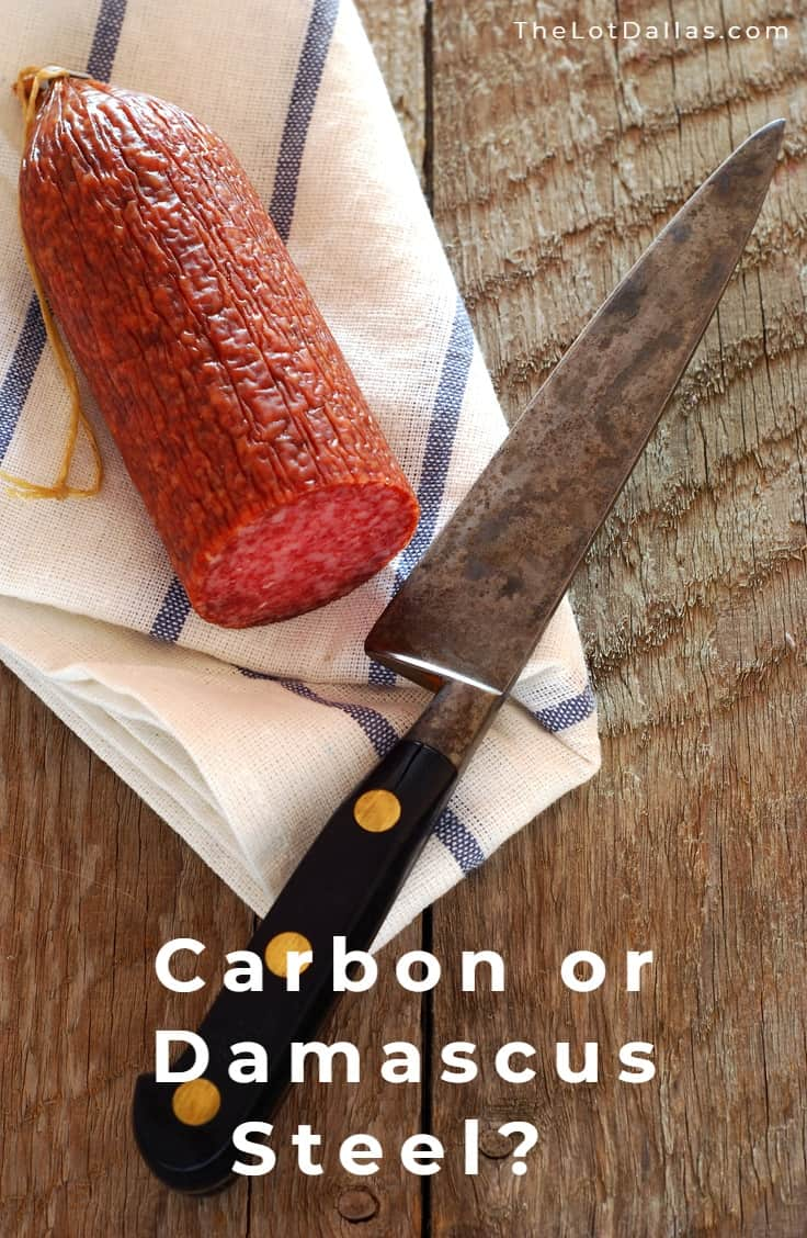 Best Damascus Chef Knife carbon steel