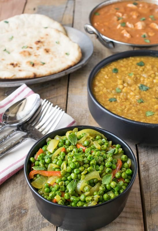 Foods That Start With I, the lot dallas, Indian Spiced Peas