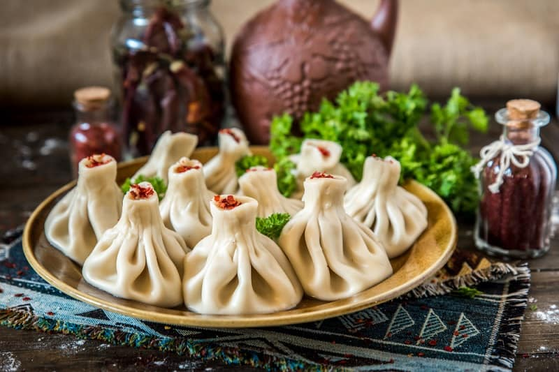 Foods That Start With K, Khinkali, the lot dallas