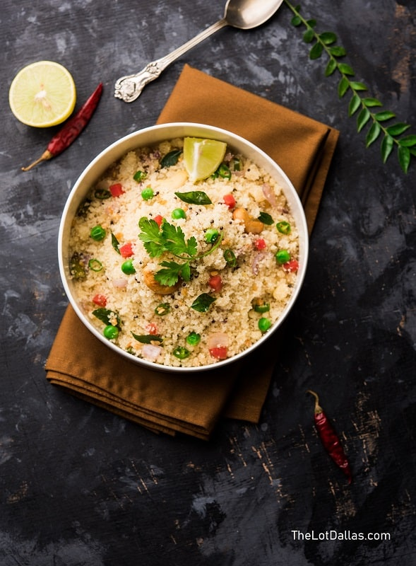 Foods That Start With U, Upma, the lot dallas