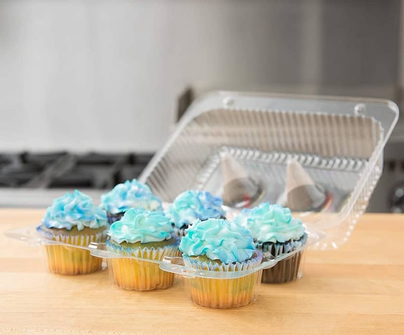 best cupcake carrier, the lot dallas, Disposable