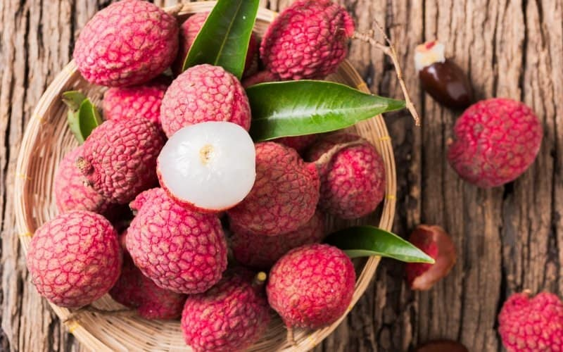 Food That Starts with L, the lot dallas, litchi
