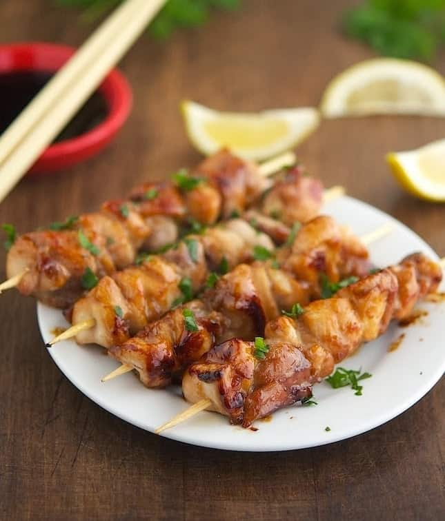 Foods That Start With Y, the lot dallas, Yakitori