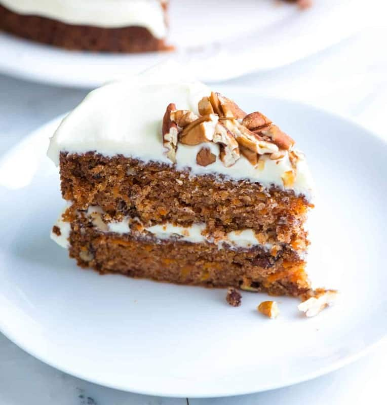 Foods that Start with C, the lot dallas, carrot cake