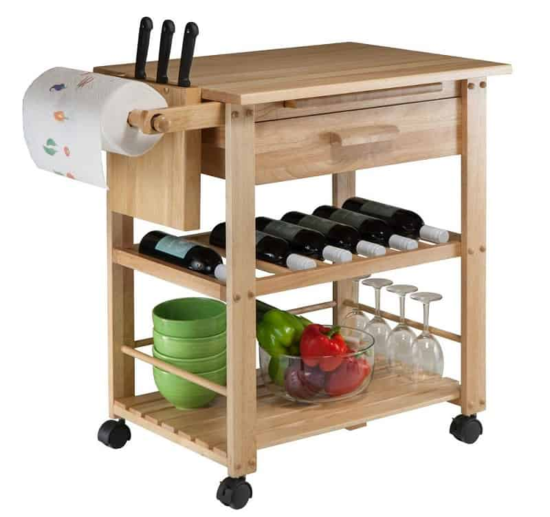 best microwave cart, the lot dallas, Winsome Wood