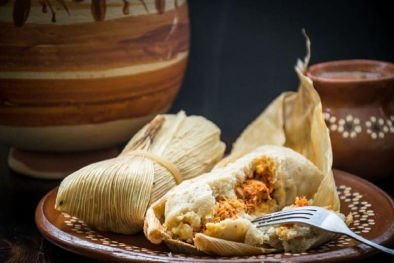 food that starts with t, the lot dallas, tamales